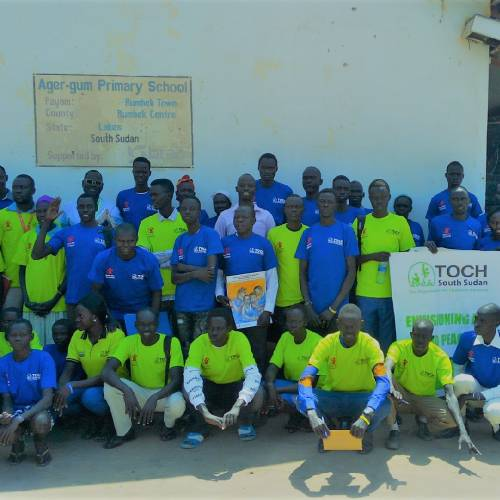 strengthening the protection of children through  community based child protection networks in Rumbek