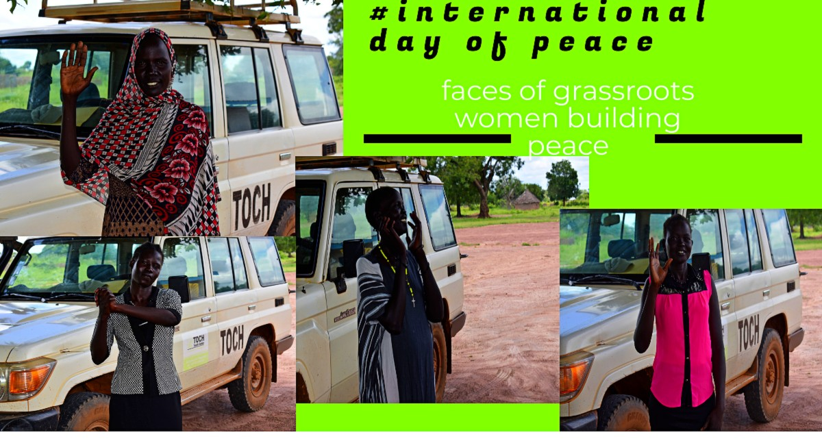 #INTERNATIONAL DAY OF PEACE 2020      FACES OF WOMEN CONTRIBUTING TO GRASSROOT PEACE BUILDING