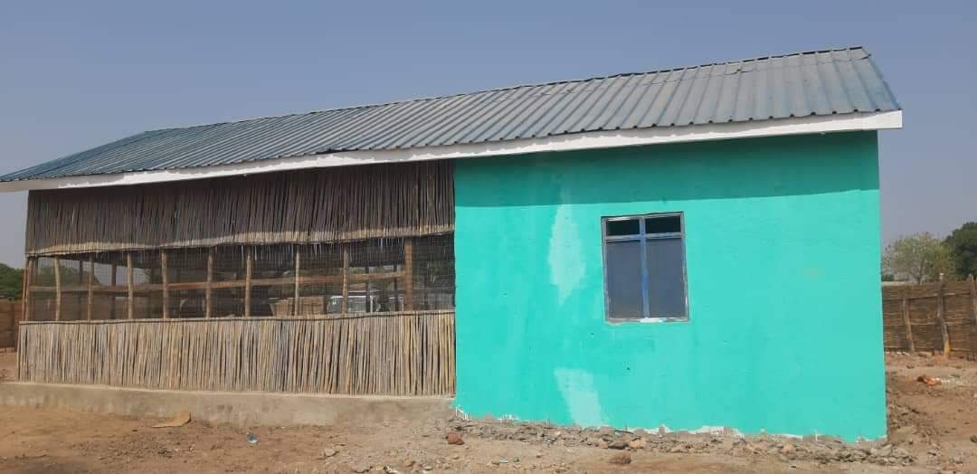 Advance Progress on Women and Girls Friendly Space in Tonj South County, 2021.
